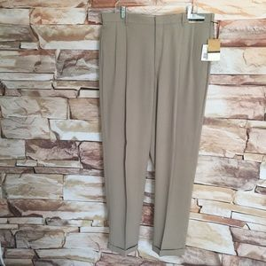 Tan Bloomingdales Pleated Front Dress Pants, 38x32